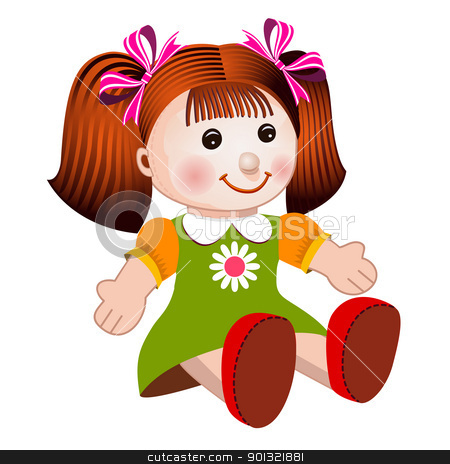 Baby Doll Clipart.