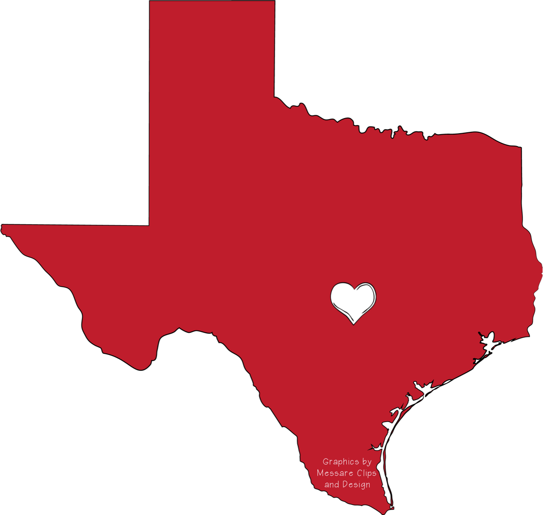 Dallas Texas Map Clip Art.