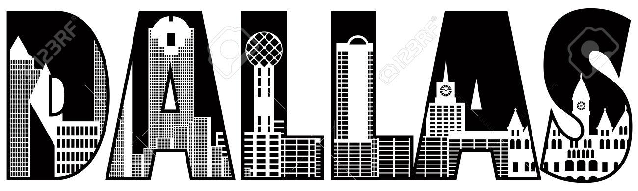 Dallas texas clip art.