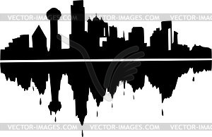 Clip Art Downtown Dallas.