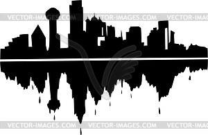Clip Art Downtown Dallas.