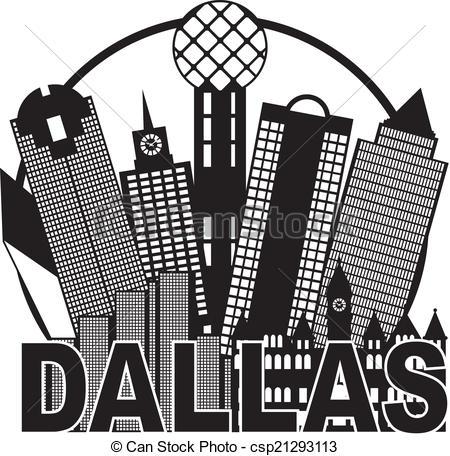 Dallas Clip Art and Stock Illustrations. 584 Dallas EPS.