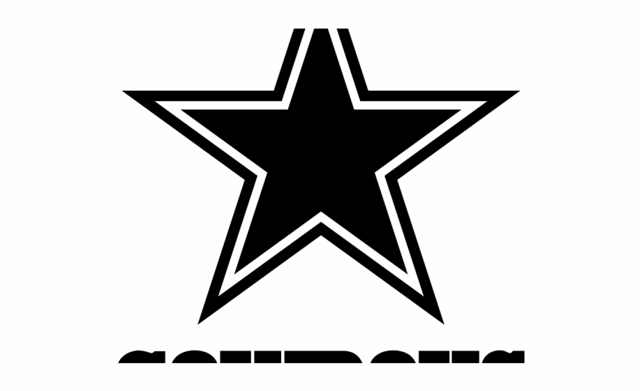 Free Dallas Cowboys Black And White Clipart, Download Free.