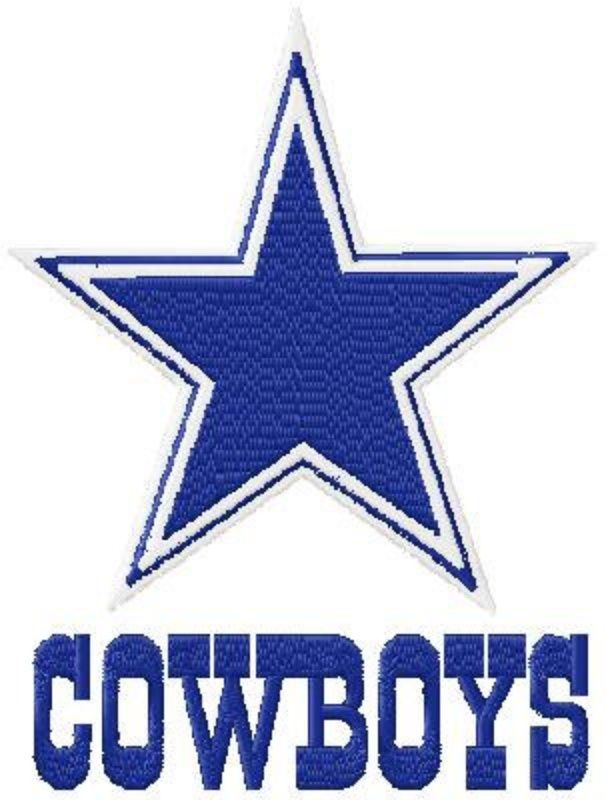 14 cliparts for free. Download Dallas cowboys clipart embroidery.