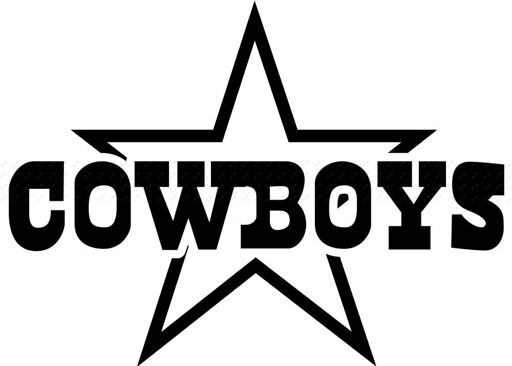 Dallas Cowboys Silhouette at GetDrawings.com.