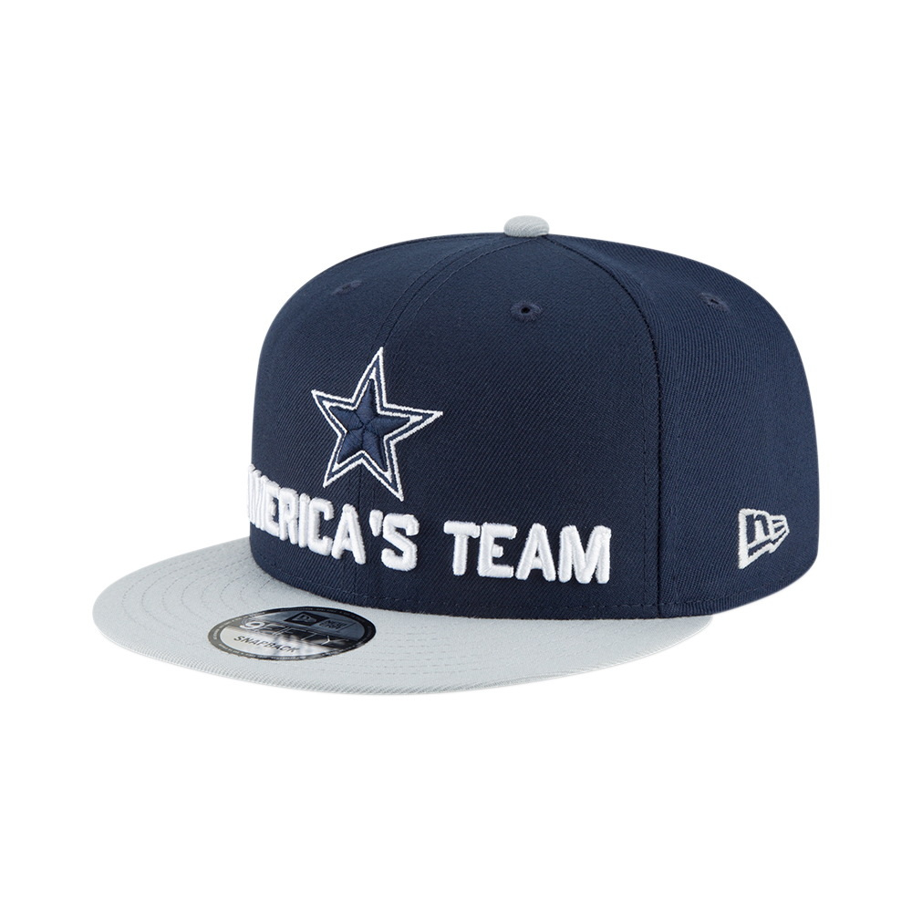 NFL Dallas Cowboys 2018 Draft Spotlight 9Fifty Snapback Cap.