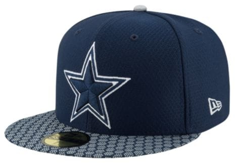 NFL Dallas Cowboys New Era 59Fifty Sideline Fitted Hat.