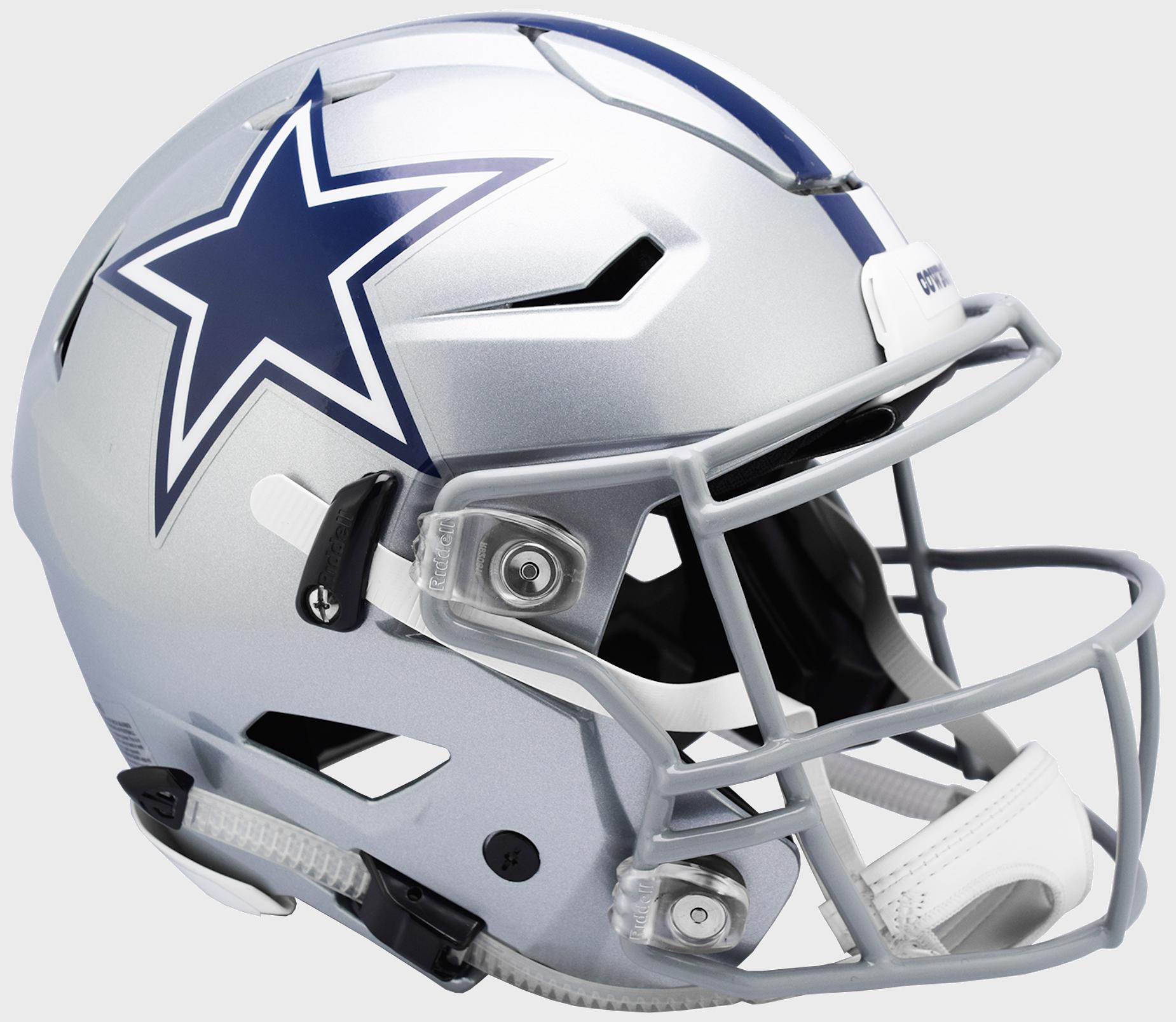 Dallas Cowboys SpeedFlex Football Helmet.