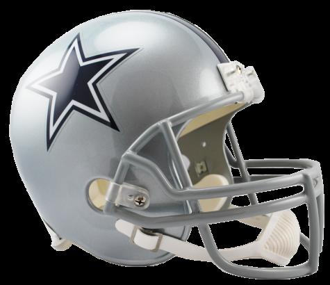 Dallas Cowboys VSR4 Replica Helmet.