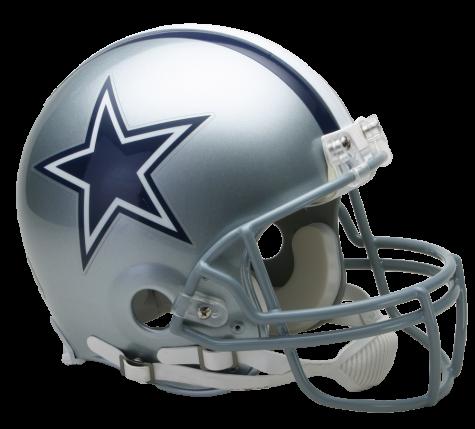 Dallas Cowboys VSR4 Authentic Helmet.