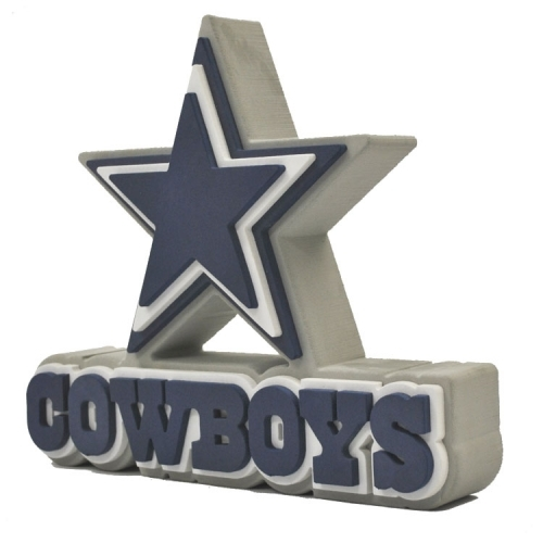 Dallas Cowboys 3D Fan Foam Logo Sign.