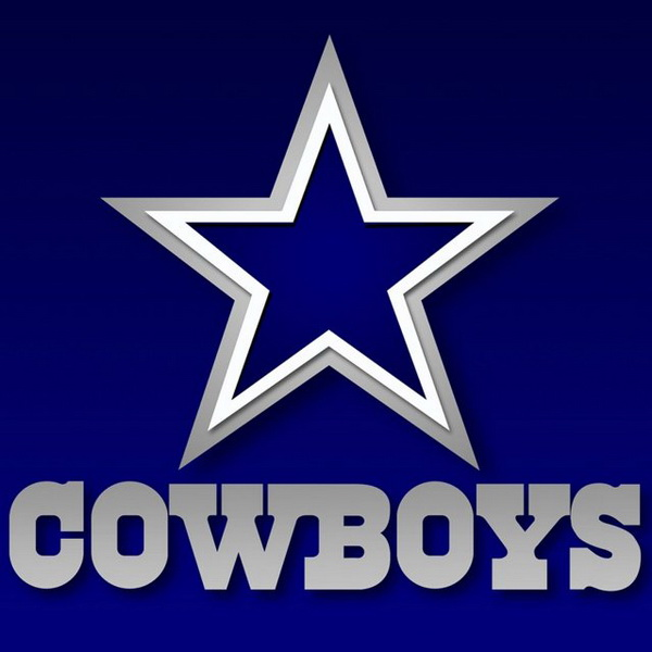 Dallas Cowboys Font and Logo.