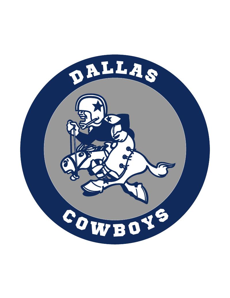 Dallas cowboys old Logos.