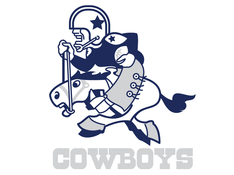 Dallas Cowboys Throwback Logo by Marco. on Dribbble.