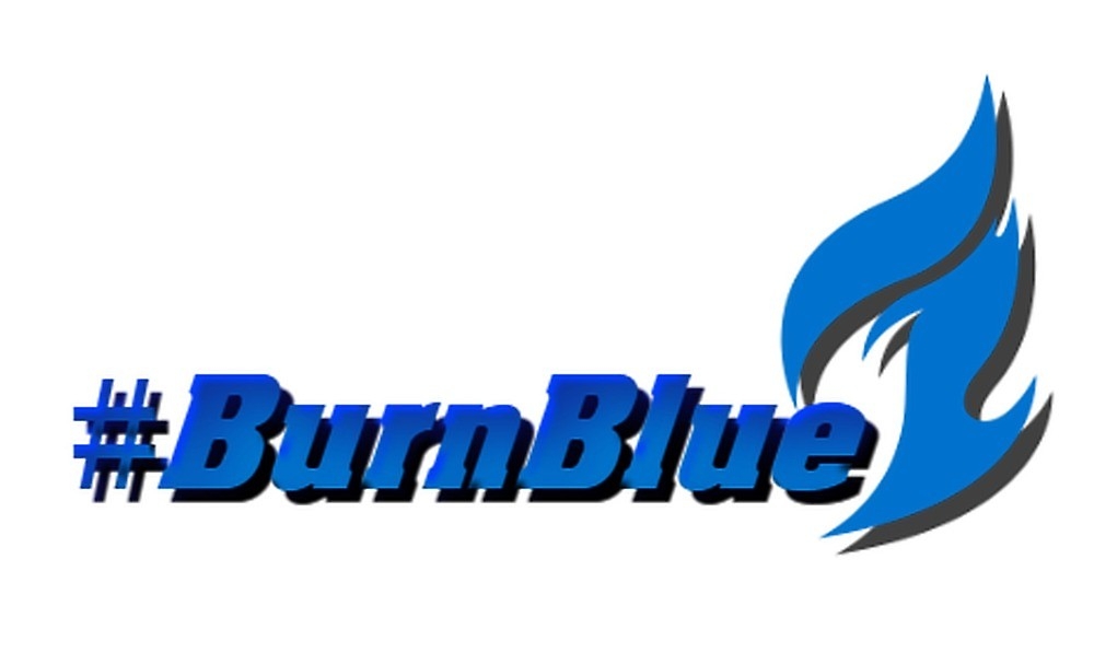 BurnBlue Dallas Fuel Logo\
