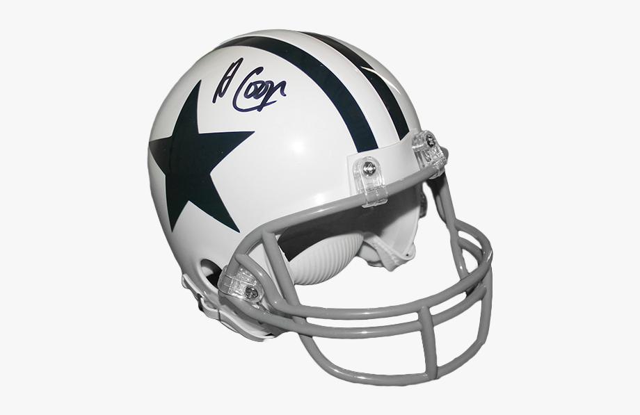 Autographed Dallas Cowboys White.