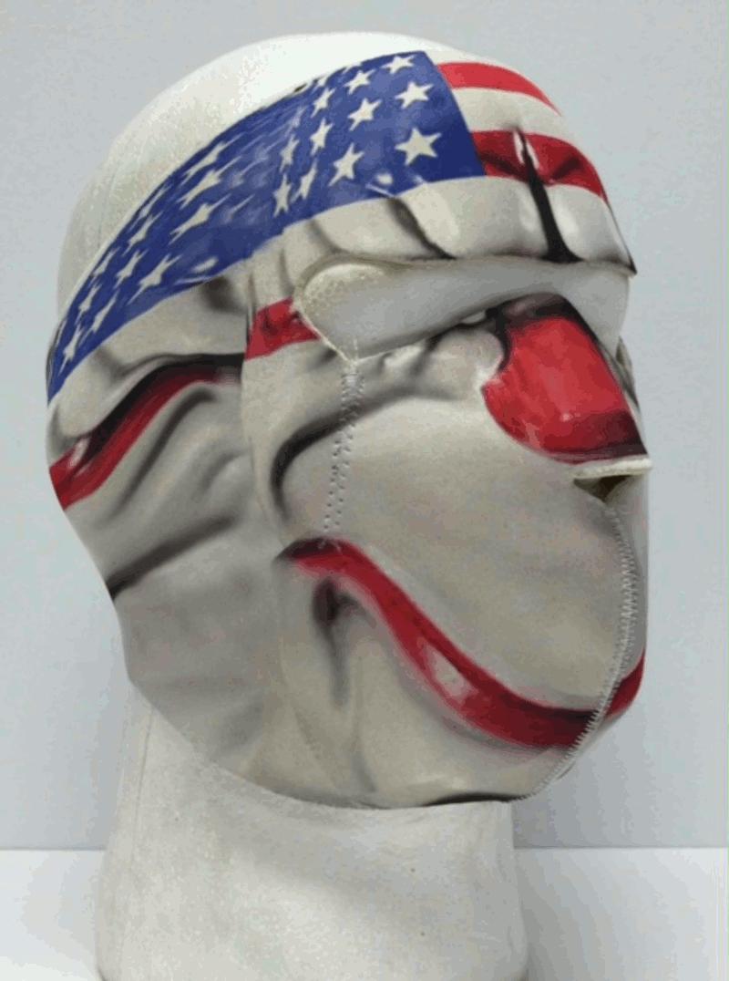 Payday 2 Dallas Bank Robber Neoprene Full Face Mask.