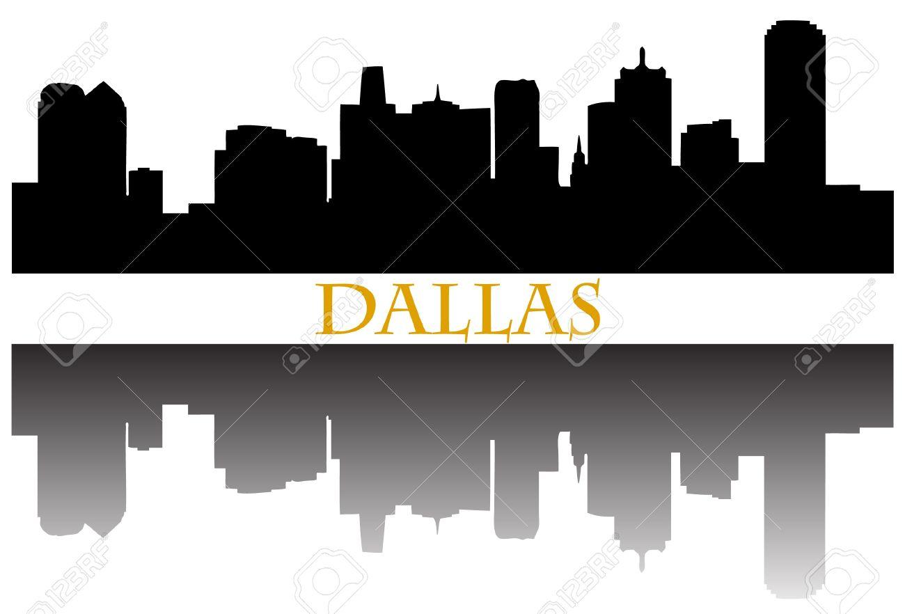 Dallas Skyline Clipart Free.
