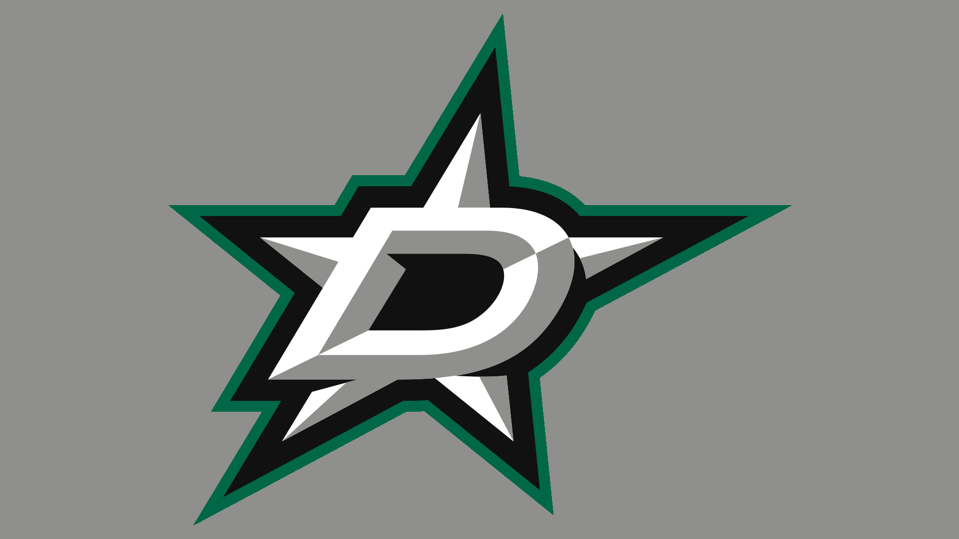 Meaning Dallas Stars logo and symbol.