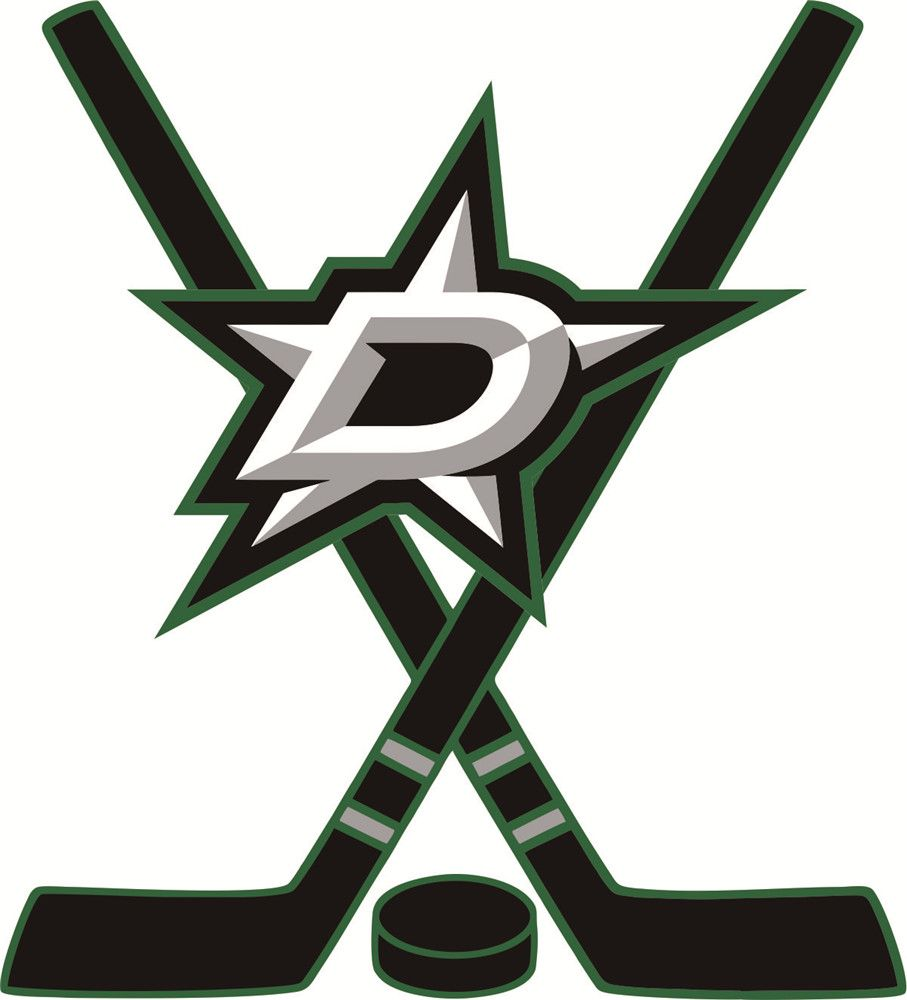 Dallas Stars Hockey logo iron on transfers.