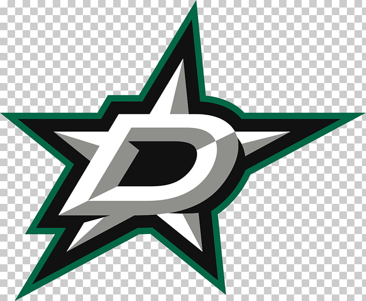 Dallas Stars Official Logo, star and letter D logo PNG.