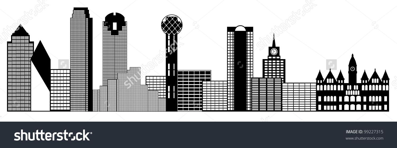 Dallas Texas Clipart.