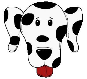 Dalmatian Clip Art Download.