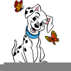 Dalmatian Puppies Clipart.