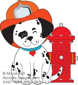 Dalmatian fire dog clipart » Clipart Portal.