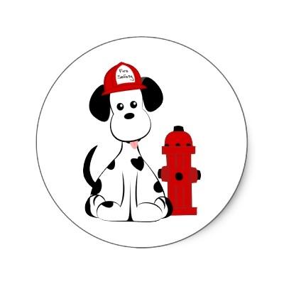 Dalmatian Fire Dog Clipart.