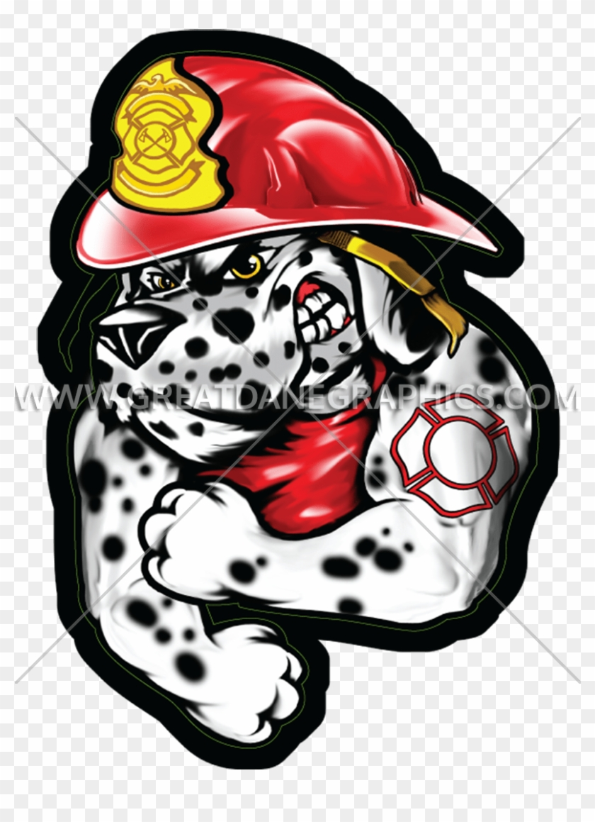 Jpg Library Dalmatian Clipart Fire Hat.