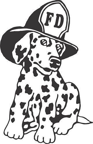 Dalmatian fire dog clipart 4 » Clipart Portal.