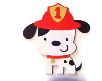 Fire Dog Clipart.