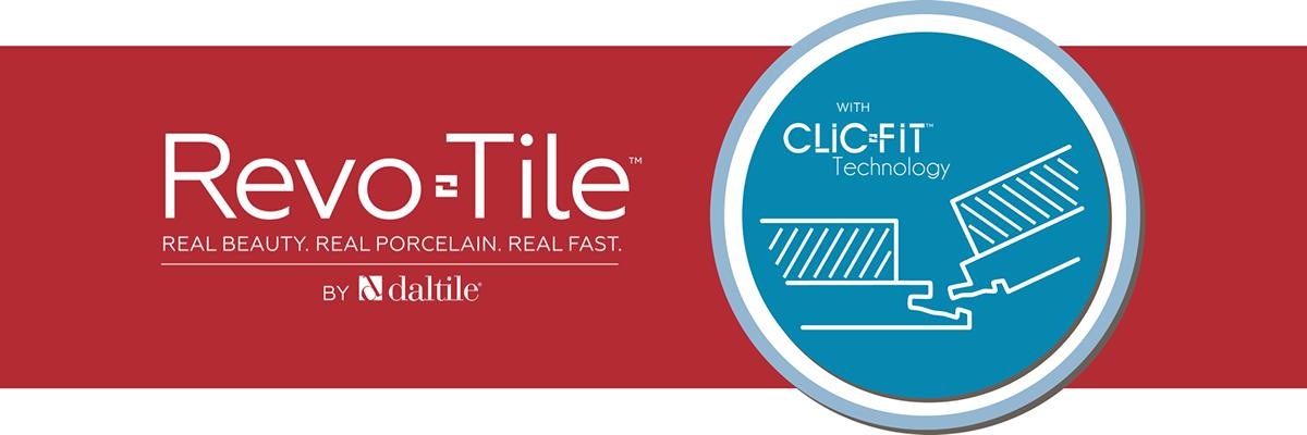 RevoTile: Revolutionary Porcelain Tile with ClicFit.