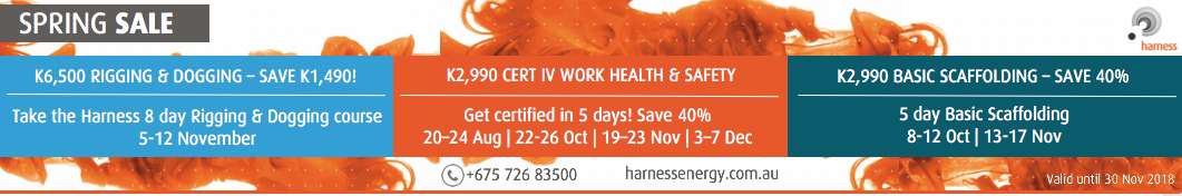 Harness Training Course PNG Special Offers.