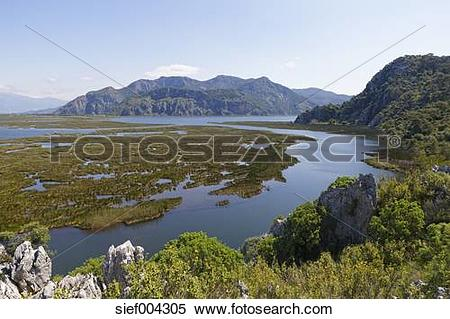 Stock Image of Turkey, View of River Delta near Dalyan sief004305.