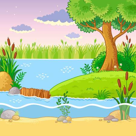 147 Beaver Dam Stock Vector Illustration And Royalty Free Beaver Dam.