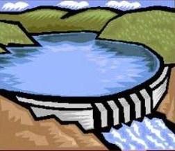 Water dam clipart 1 » Clipart Portal.