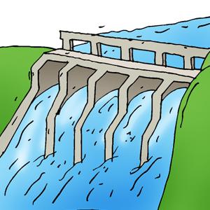 Dam clipart.