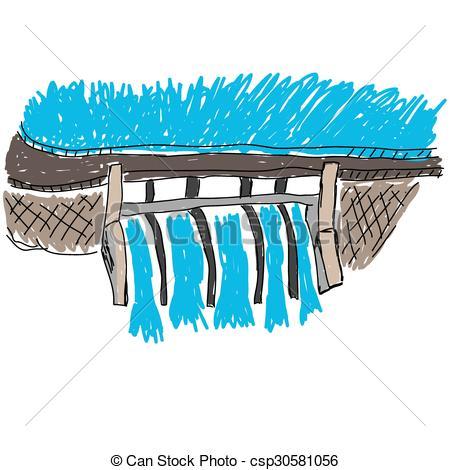 Water Dam Clip Art.