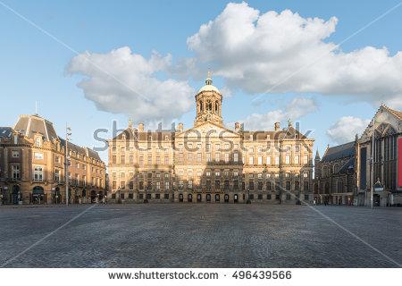 Amsterdam Dam Square Stock Photos, Royalty.