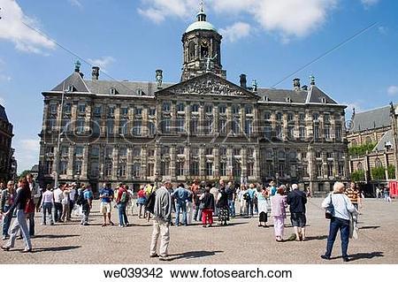 Stock Photo of Koninklijk Paleis (Royal Palace), Dam Square.