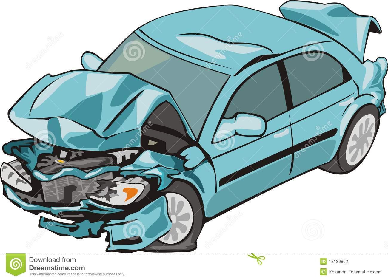 Car damage clipart.