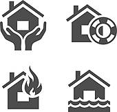 Clipart of Earthquake Property k21692991.