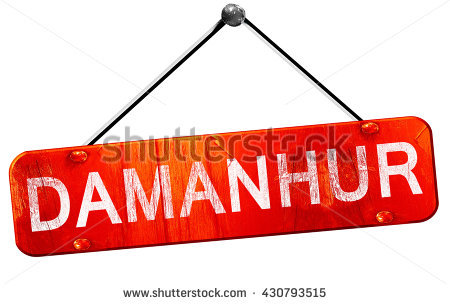 Damanhur, 3d Rendering, A Red Hanging Sign Stock Photo 430793515.