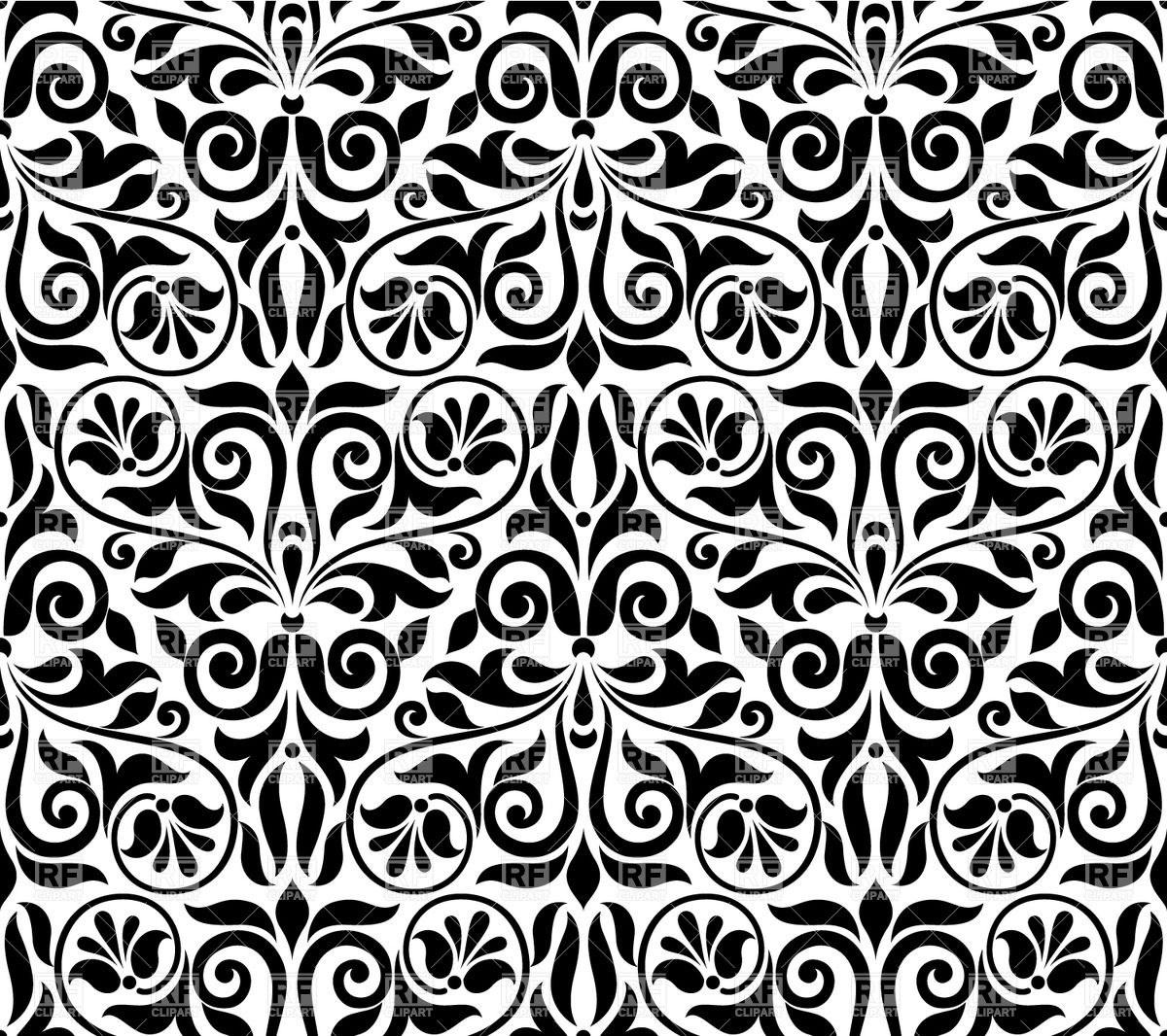 Damask pattern clipart 2 » Clipart Portal.