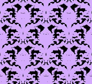 Lavender Damask Background clip art.