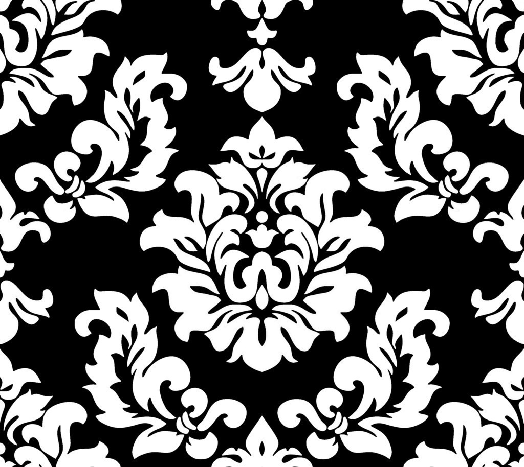 Free Black Damask Background, Download Free Clip Art, Free Clip Art.