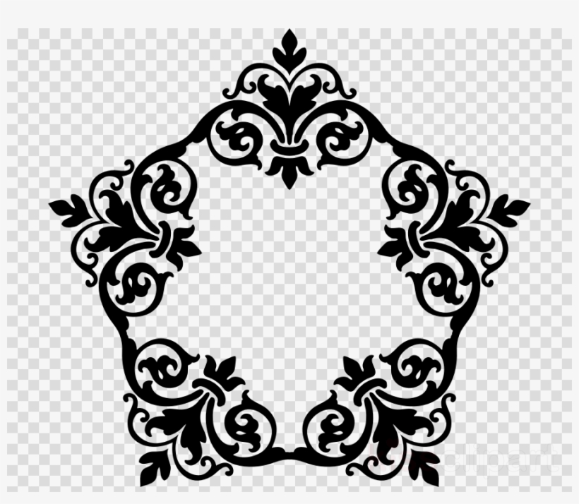 Frame Damask Clipart Borders And Frames Picture Frames.