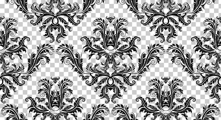 Vintage Ornament PNG, Clipart, Art, Black, Black And White, Damask.